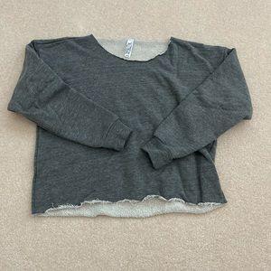 American Apparel Raw Edge Sweater